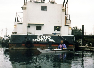 The Echo beside the Seattle vessel Echo